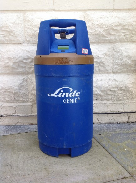 "'G10"" Genie cylinder with  buit in digital guage"