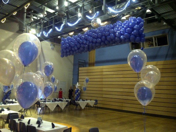 And every great Graduation Ball needs a great balloon drop.