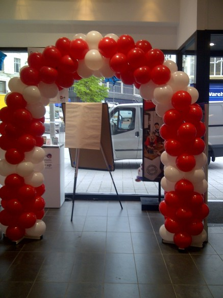 Liverpool Balloon Arch