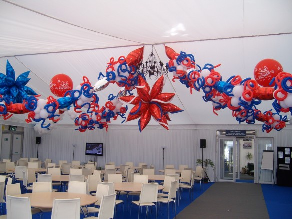 British Grand Prix marquee decor 2012