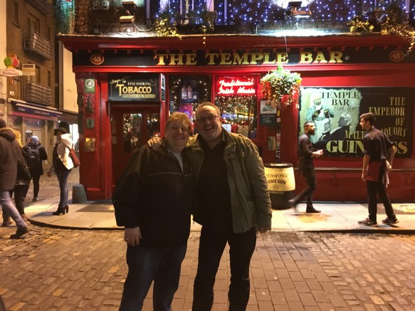 No trip to Dublin is complete without a viist to Temple bar