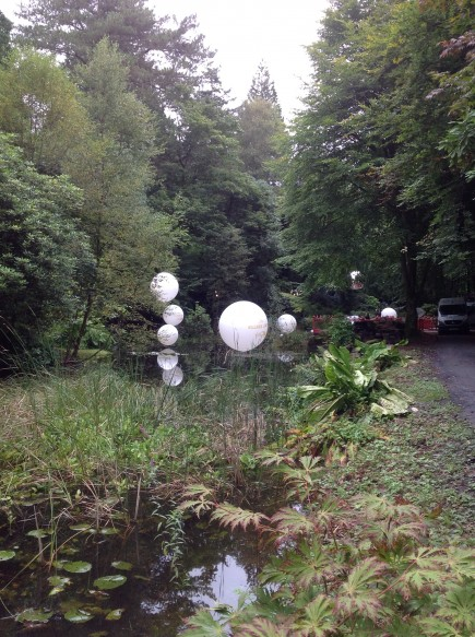 We can even get the van next to the lake which pleases the H & S team as the helium remain in the back