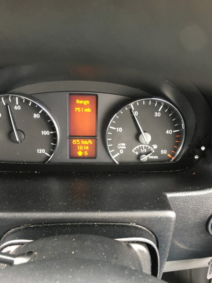 Slow and steady wins the race. Wow many miles on a single tank. WOW!