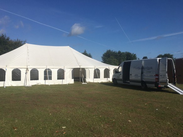 Nice bright blue skies and the correct marquee.