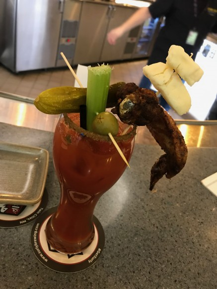 Now thats what I call a Bloody Mary. Get me another